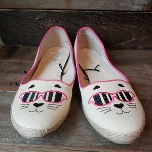 Nicole Cat face shoes